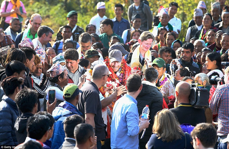 Prince Harry celebrate holi in nepal24