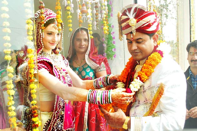 indo-russian marriage