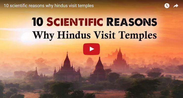 10 scientific reasons why hindu visits temple