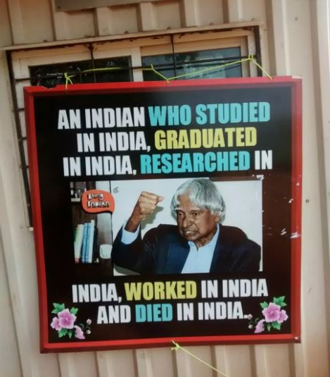 Dr. A.P.J. Abdul Kalam is a great personality of india
