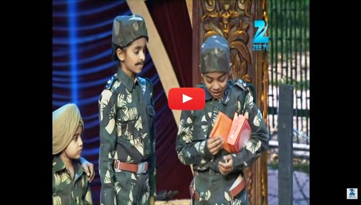 Indias best dramebaaz perform a outstanding play about patriotism