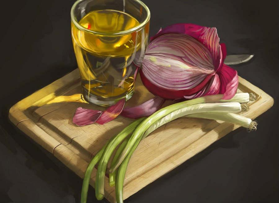 onion tea benifits
