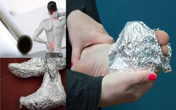 aluminum-foil helpful for joint pain
