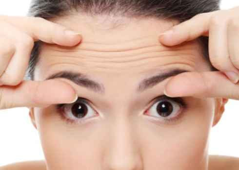 how to find age with wrinkle of head