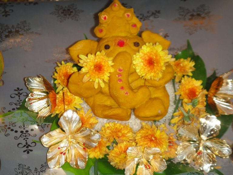 shree ganesha four amazing statue
