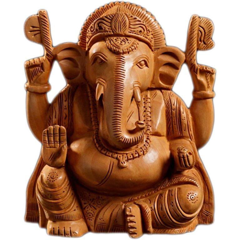 shree ganesha four amazing statue