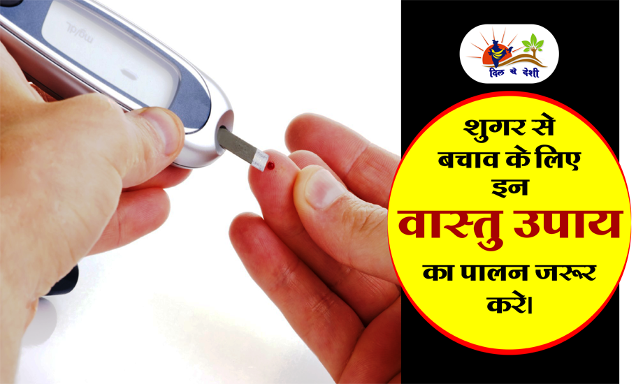 Follow these vaastu rules to protect against the disease of sugar