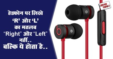 Headphone R and L Meaning