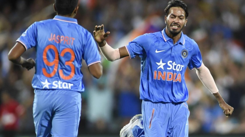Hardik Pandya first t-20 match