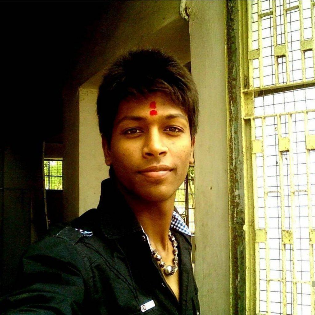 Hardik Pandya childhood image