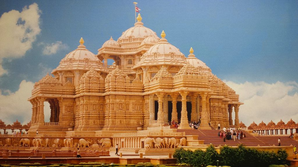 Akshardham in hindi