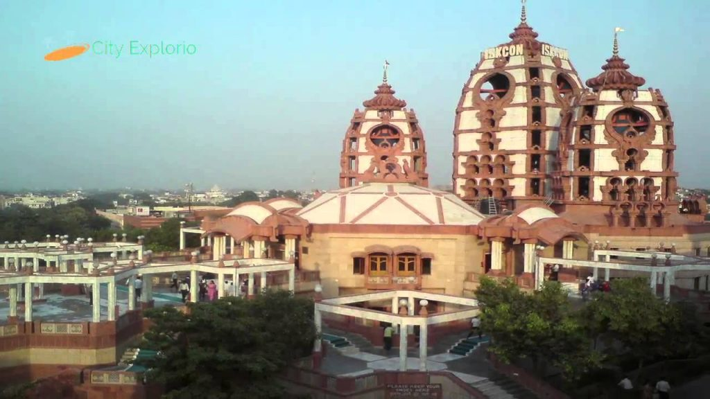 Iskcon Temple / Iskcon Mandir in hindi