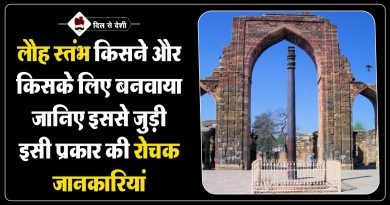 Interesting Facts About Iron Pillar of Delhi