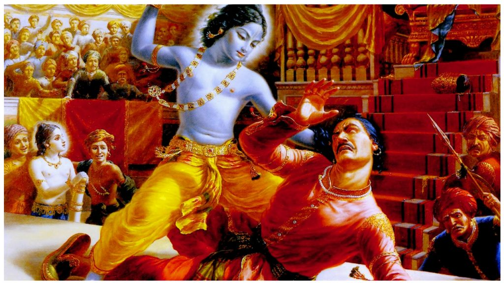 Reason Behind Lord Krishna Blue and Black Color