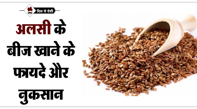 benefits flax seed alasi in hindi