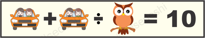 Owl, Wheel, Can and Tree Picture Puzzle Answer2