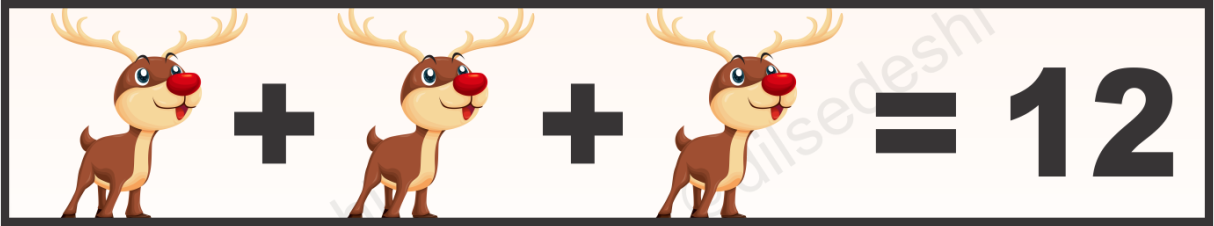 Deer, Tomato and Watch Logical Puzzle Quiz Questions Answer