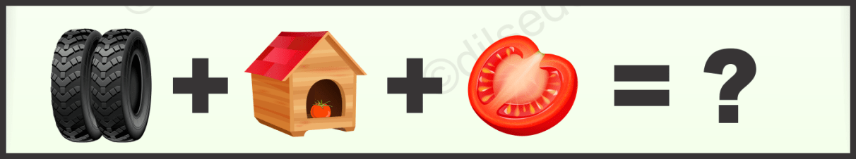 Home, Tire and Tomato Logical Puzzle Quiz Questions Answer