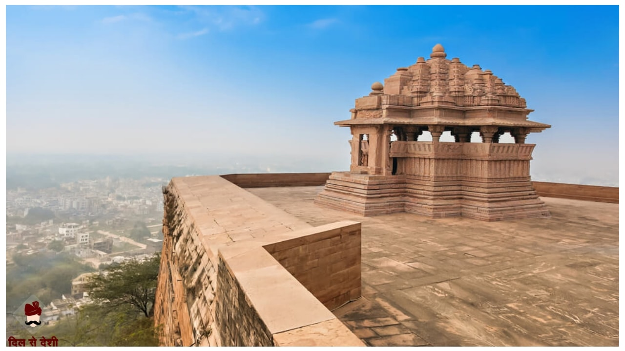 Gwalior Fort History and Architecture in Hindi