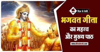 भगवद गीता से मेरे जीवन में आये बदलाव (निबंध) | Changes in my life from Bhagavad Gita Essay in Hindi