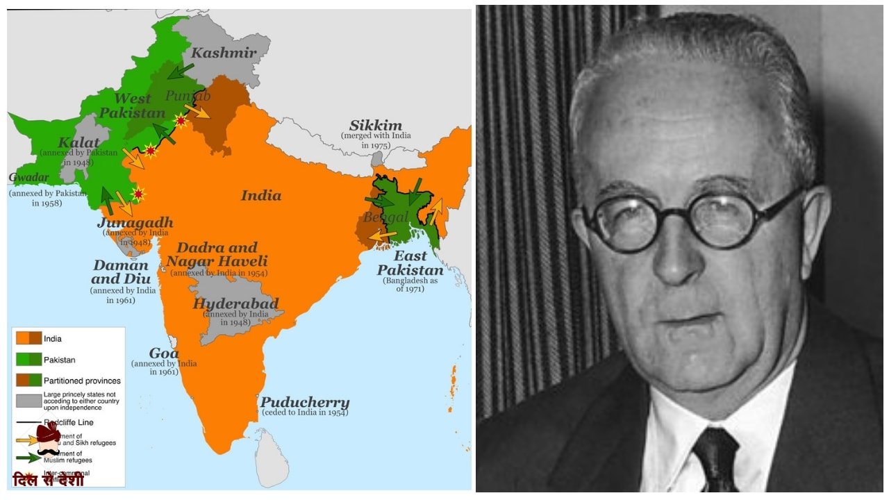 Major Reasons for Partition of India in Hindi