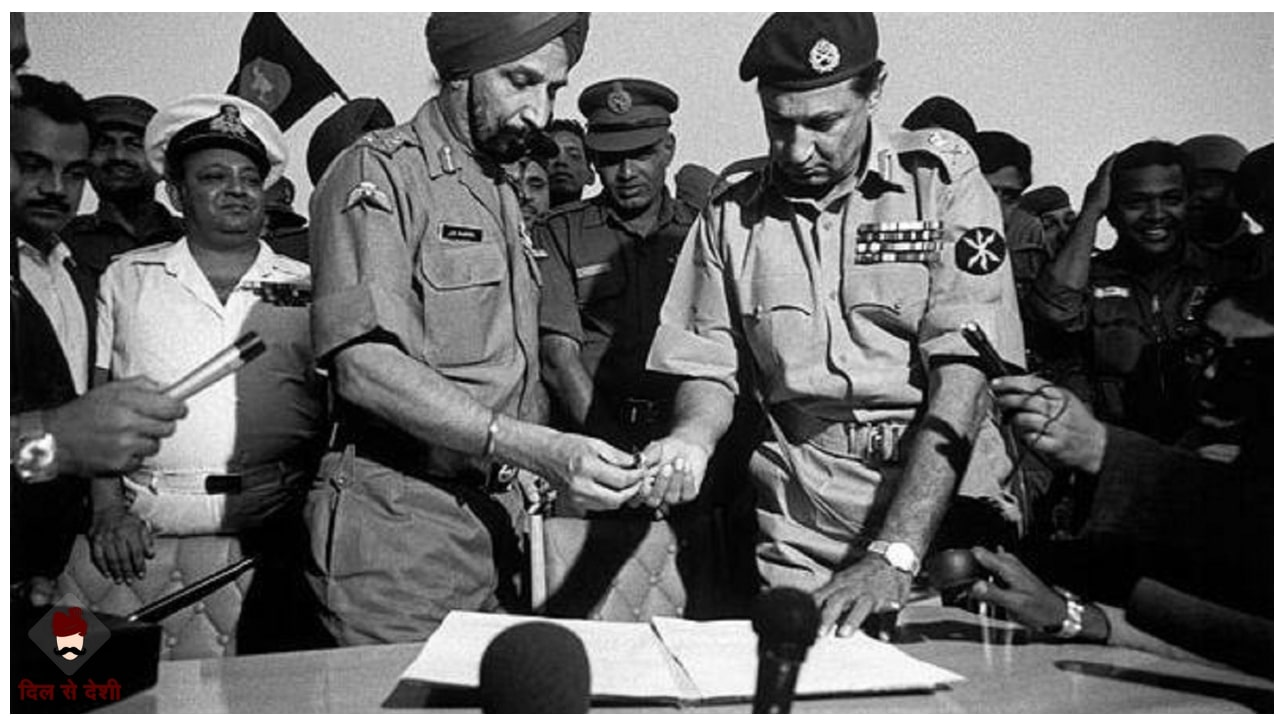 1971 Indo-Pak War Reason and Result in Hindi