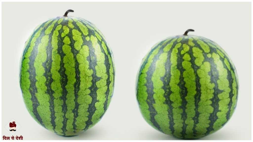 How to Identify Sweet Watermelon in Hindi