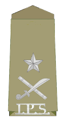 Inspector General of Police Rank Insignia
